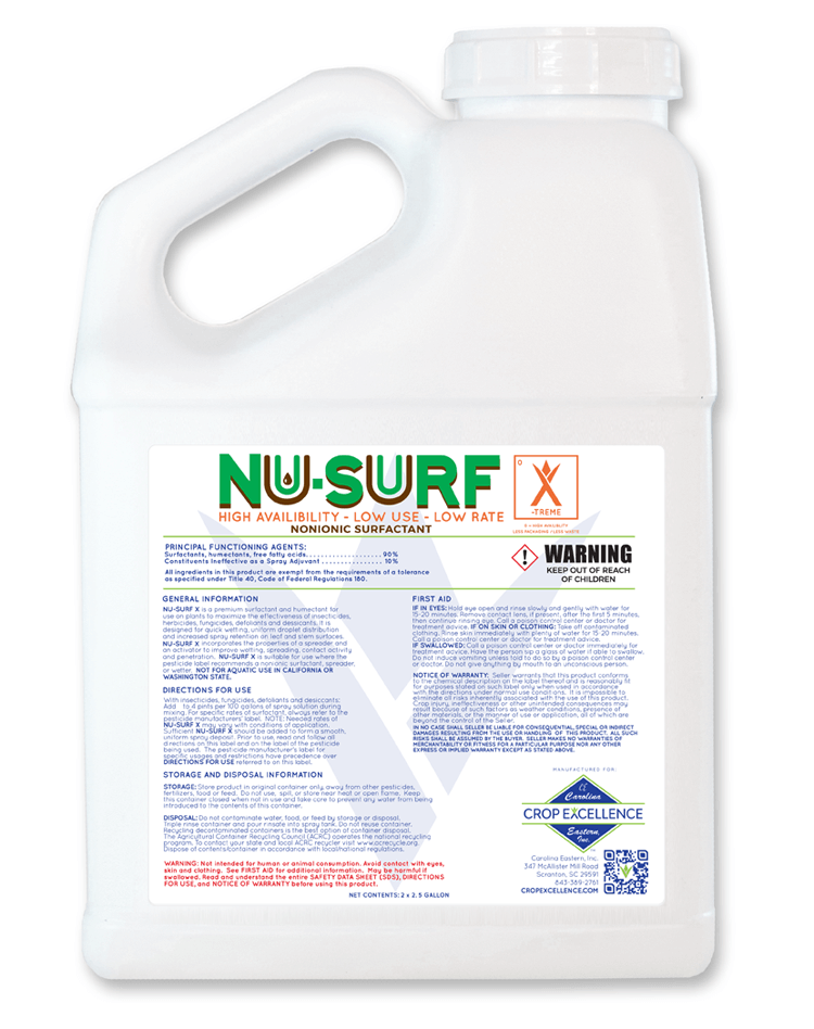 NU-SURF X-TREME® | High Availability - Low Use - Low Rate Non-Ionic Surfactant Image