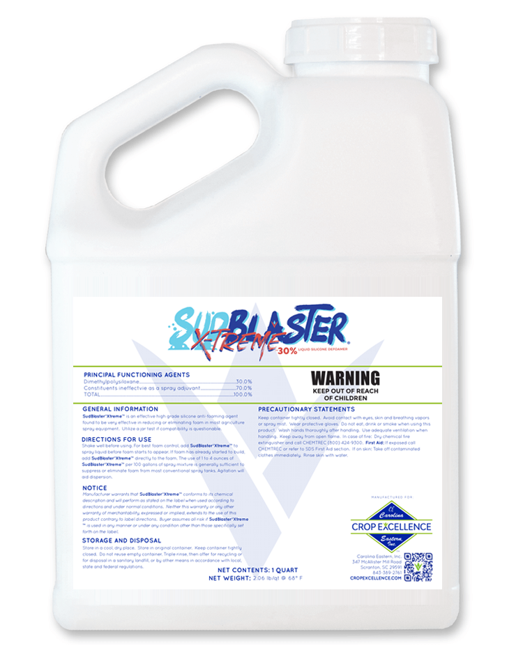 SUDBLASTER® X-TREME® | High Availability - Low Use - Low Rate - 30% Liquid Silicone Defoamer Image