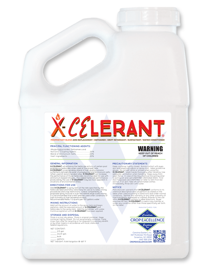 X-CELERANT® | AMS Replacement, Defoamer, Drift Retardent & Water Conditioner Image