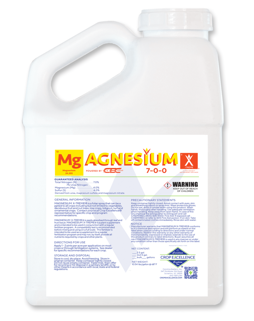 Mg X-TREME®   High Availability - Low Use - Low Rate - Magnesium powered by CEC Propulsion Delivery System Image