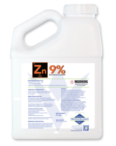 Zn 9% | Derived from Zinc EDTA Image
