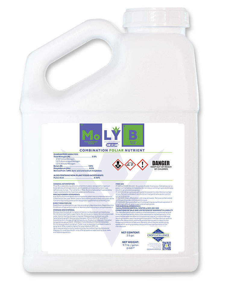 MOLY B™ | Combination Foliar Nutrient Image